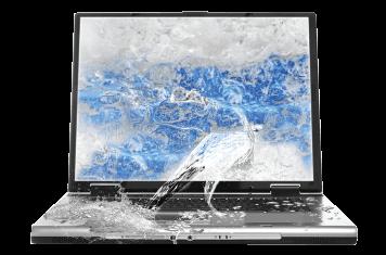 laptop water damage problem